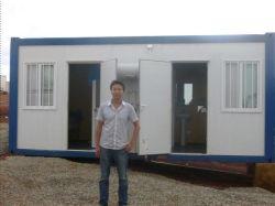 المنازل المصنعة لمعسكر التعدين/أماكن إقامة العمال/الفندق/المكتب (SH101)