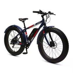 26′ ′ E-Fahrrad elektrischer Fahrrad-Gebirgsradfahrendes Aluminiumlegierung-Ketten-Schnee-Fahrrad mit Rad-Speiche Mz-1226