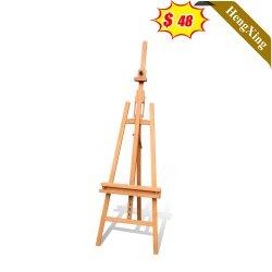 حامل ثلاثي القوائم قابل للضبط لطاولة Pine الخشبية عالية الجودة رسم اللوحة