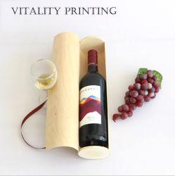 Commerce de gros de personnaliser le Rhum Vodka Champagne Vin Whisky Port VDP de l'emballage en bois d'emballage Boîte en bois