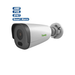 Full HD 4MP Tiandy H. Bullet POE 265 IR étanches IP67 de la sécurité de détection de mouvement de vision de nuit Onvif P2P Caméra de sécurité IP CCTV POE