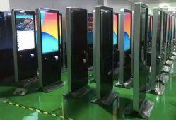 Standplatz-Bildschirmanzeige-Totem-DigitalSignage LCD des Fußboden-49inch, der Kiosk bekanntmacht
