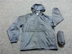 高品質の人のジャケットの方法機能余暇のウインドブレイカー