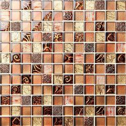 Kristall-Luftblasen-Harz-Mischungs-Shell-Mosaik