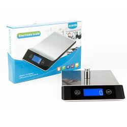 Batteriebetriebener Edelstahl-Digital-elektronische Küche-Nahrungsmittelschuppe