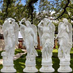Fiberglas-Skulptur-römische griechische Mythus-Abbildung Vierjahreszeitenstatue-Park und Garten-Dekoration draußen