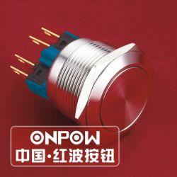 Onpow 22mm Momentanés Commutateur à bouton poussoir en métal (GQ22-11E/S) (Dia. 22mm) (CE, CCC, RoHS, REECH)