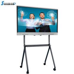 Scheda astuta interattiva portatile di Whiteboard del LED 4K dell'aula infrarossa della visualizzazione