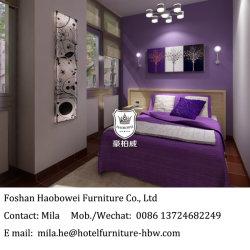 Недорогой отель с одной спальней и мебелью из дуба в свете меламина покрытием для деловых гостиниц в низкой цене