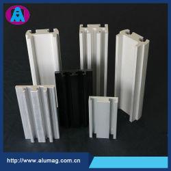 Kundenspezifisches Aluminiumlegierung-festes Schlitz-/Spur-/Kanal-/Kapitel-Aluminiumstrangpresßling-Profil