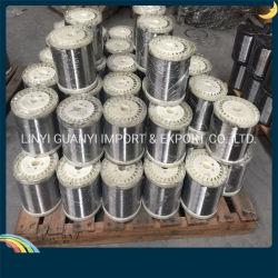 Aço inoxidável de arame de ferro galvanizado para Material Scourer
