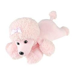 قطيفة كلب لون قرنفل ليّنة يحشى فتى لعب حيوان صغيرة راعي عيد ميلاد المسيح هبة لأنّ أطفال
