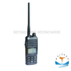 5W portátil à prova de UHF VHF marítimo portátil Rádio de Duas Vias Walkie-talkie