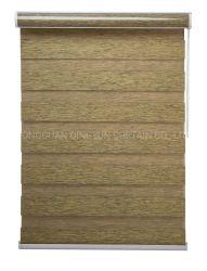 束ねられたファブリックカバー装飾のシマウマの停電ファブリック巻上げ式ブラインド