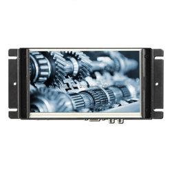 7 인치 산업 LCD 접촉 모니터를 가진 금속 열린 구조