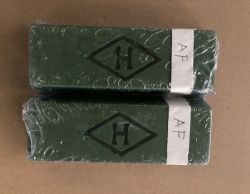 緑の固体ワックス630gのPolishinglの混合物の磨く石鹸の磨くのり