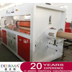 PVC HDPE PE 관 기계/기계/생산 라인을 만드는 플라스틱 PVC PE 관 밀어남