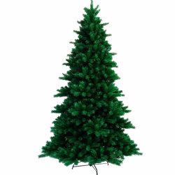 Tailles personnalisées en PVC vert PE décoré des arbres de Noël