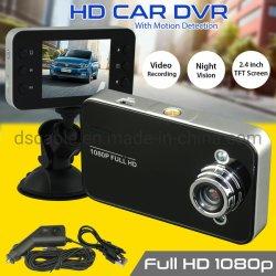 De videorecorder van het Voertuig 1080P van de Camera HD van de Nok DVR van het Streepje van de auto met de Visie van de Nacht g-Senor