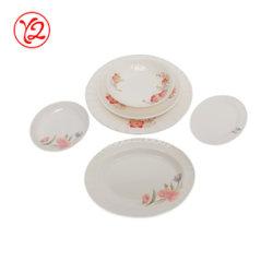 12/14/16 pouces Melamineware vaisselle en céramique de la plaque de remplacement
