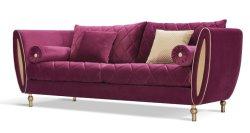 Le luxe moderne de haute classe Sofa Hotel Lobby canapé avec tissu Zhida