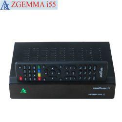 본래 리눅스 OS Enigma2 IPTV 흐르는 상자 Zgemma I55 높은 CPU 이중 코어 USB WiFi 선수