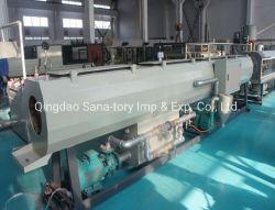 La machine en plastique HDPE de gaz et de la ligne de production d'Extrusion du tuyau de l'eau