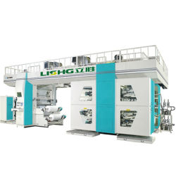 Tambour central PP du tissu Flexographiv Machine d'impression /Flexo