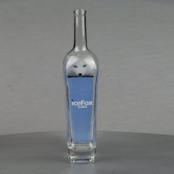 燧石のウォッカのガラスビンのアルコール飲料の精神のガラスビンのパッキング