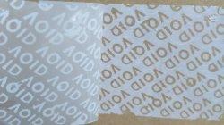 Bewijs van manipulatie papier voor afdrukken met coating/materiaal voor alle labels Overdracht/niet-overdracht/Alles wissen overdracht