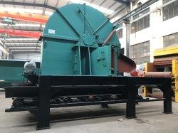 Большей емкости 75квт диск промышленной древесины измельчитель измельчитель с высокой эффективности