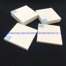 piastrina di ceramica resistente abrasiva 95% dell'allumina di 92% per il comitato di gomma di ceramica composito