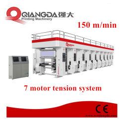 1050 mm 8 Sistema de arco de cores Gravure máquina de impressão pressione