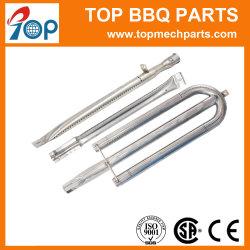 Custom de acero inoxidable tubo barbacoa de gas propano Burner