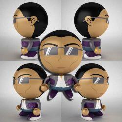 Design personalizado Bobble Head à mão