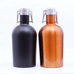 304 ml di vino in matraccio per anca a doppia parete in acciaio inox Flacone (SH-ST28)