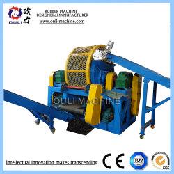 Der Gummireifen-Zerkleinerungsmaschine-Maschine/Gummireifen, der Gummipuder-Produktionszweig/aufbereitet, bereiten die Körnchen auf, die Maschine herstellen