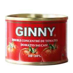 De heerlijke Verse Tomatenpuree van Rode Kleur 28-30% Brix 70g/210g/400g/800g/2200g/4500g