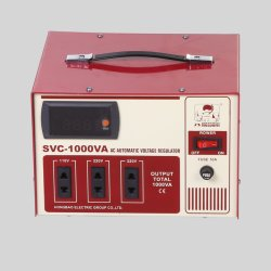 Régulateur de tension automatique AVR marque Hossoni SVC-1kVA