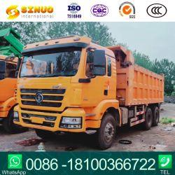 Autocarro a cassone utilizzato delle rotelle F2000/F3000/M3000 dell'autocarro con cassone ribaltabile dell'usato dell'autocarro con cassone ribaltabile di Shacman 6X4 10 che capovolge camion un carico da 30 tonnellate