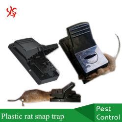 速い殺害の大きいプラスチック黒猫マウスキラー齧歯動物の捕獲物のラットのスナップのトラップ