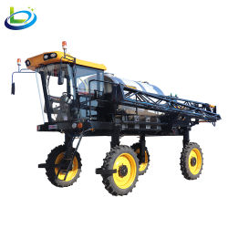 Spruzzatore automotore agricolo dell'asta di agricoltura dell'antiparassitario della rotella di potere del fagiolo dell'azienda agricola del trattore