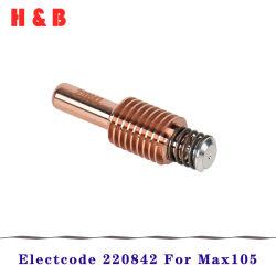 Materiali di consumo 45-105A della macchina ossitaglio del plasma dell'elettrodo 220842