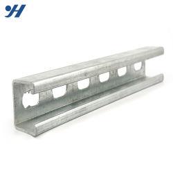 Manica d'acciaio di l$tipo C della struttura d'acciaio della parentesi