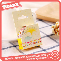 Оптовые украшения домашних бумагу отпечатанной Washi защитной ленты