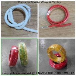 Pvc isoleerde de Flexibele ElektroDraad van de Isolatie van het Silicone van de Kabel van het Huis van de Bouw Elektrische Teflon