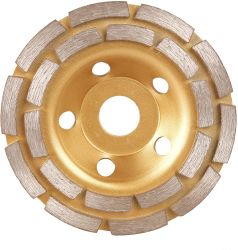100-180mmのダイヤモンドのツールの具体的な床の具体的な磨く粉砕のコップの車輪の石
