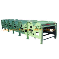 Máquina de limpieza de alto rendimiento de los residuos los hilados y ropa vieja
