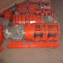 Электрический 380V 2JP-22 дважды скребка питающего барабана лебедки для металла в области разминирования