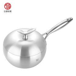 [تيتنيوم] فولاذ [بيرني] حساء [ميلك فوود] باستا مغفّل يطبخ إناء